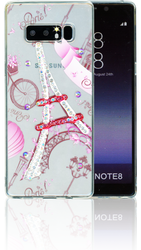 Samsung Galaxy NOTE 8 MM Electroplated Bling Paris.