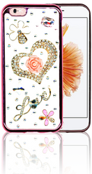IP 6/6S  MM Bling 3D Heart