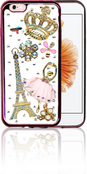 IP 6/6S  MM Bling 3D Paris