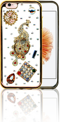 IP 6/6S  MM Bling 3D Peacock