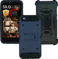 ZTE TEMPO X MM Silo Rugged Case DARK BLUE