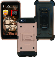 ZTE TEMPO X MM Silo Rugged Case ROSE GOLD