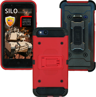ZTE TEMPO X MM Silo Rugged Case RED