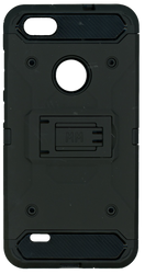 ZTE BLADE FORCE MM Silo Rugged Case BLACK