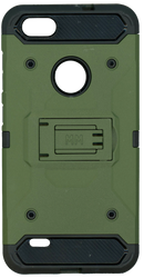 ZTE BLADE FORCE MM Silo Rugged Case ARMY GREEN