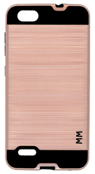 ZTE Blade Force MM Slim Dura Metal Finish Rose Gold