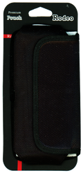 iphone 7 Plus/6S Plus/6 Plus Horizontal Canvas Pouch With Metal Clip