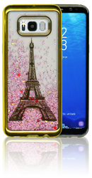 Samsung S8 PLUS Electroplated(Gold) Pink(Tower)
