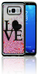 Samsung S8 PLUS Electroplated(Silver) Pink(Love)