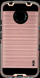 Motorola E4 PLUS MM Slim Dura Metal Finish Rose Gold
