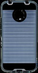 Motorola E4 PLUS MM Slim Dura Metal Finish Ink Blue