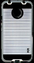 Motorola E4 PLUS MM Slim Dura Metal Finish Silver