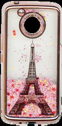 Motorola E4 PLUS Electroplated(Rose Gold) Pink(Tower)