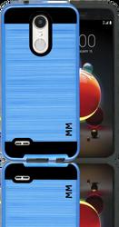 LG Aristo 2 MM Slim Dura Metal Finish Blue