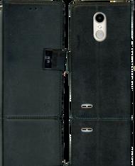 LG Aristo 2 MM Premium Folio Wallet Black