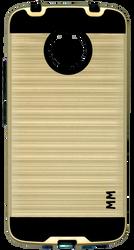 Motorola E4 PLUS MM Slim Dura Metal Finish Gold