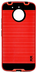 Motorola E4 PLUS MM Slim Dura Metal Finish Red