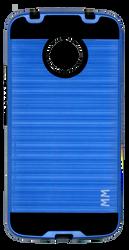 Motorola E4 PLUS MM Slim Dura Metal Finish Blue