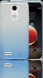 LG Aristo 2MM Glitter Hybrid (Two Tone) Blue