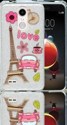 LG Aristo 2 MM Paris Glitter Hybrid