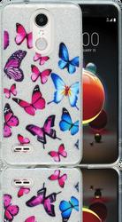LG Aristo 2 MM Butterfly Glitter Hybrid