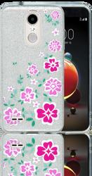 LG Aristo 2 MM Flowers Glitter Hybrid