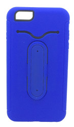 Sharp Aquos Crystal Snap Tail Hybrid Case With Kickstand Blue