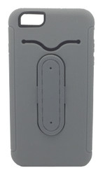 LG F60 Tribute Snap Tail Hybrid Case With Kickstand Grey