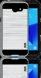 Samsung J3 Emerge MM Slim Dura Metal Silver