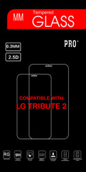 LG TRIBUTE 2 / C40 LEON Tempered Glass