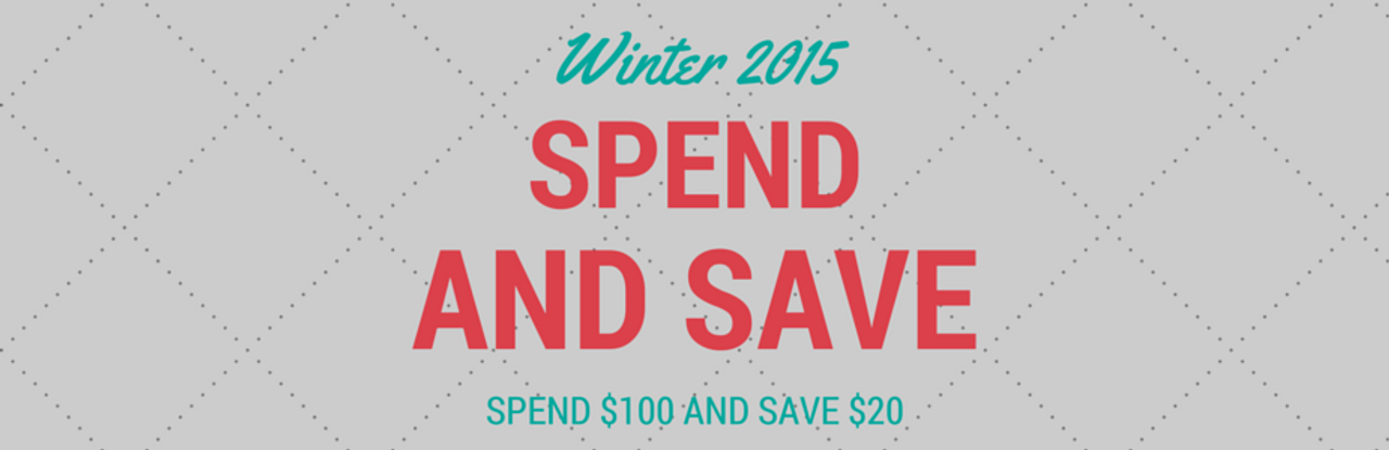 EOFY Spend & Save!