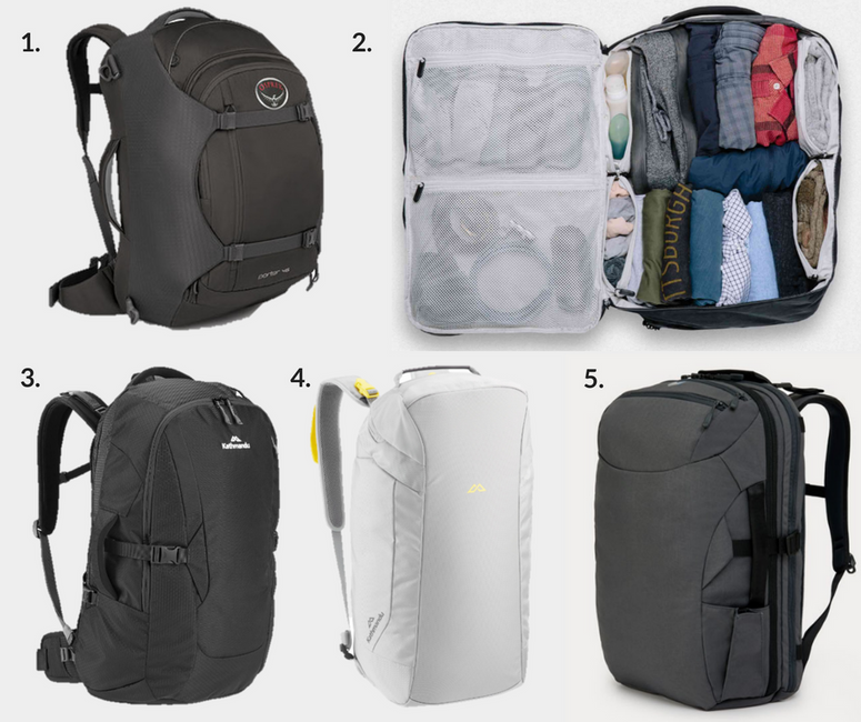 Swapping your suitcase for a backpack – travelling light