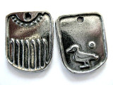 Good Luck Bird - Pewter Pendant (PW114)