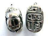 Beetle Scarab - Pewter Pendant (PW124)