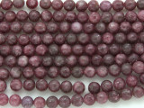 Lepidolite Round Gemstone Beads 6mm (GS818)