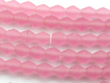 Pink Bicone Resin Beads 11mm (RES82)