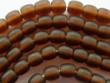Brown Round Resin Beads 9mm (RES93)