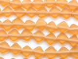 Cantaloupe Orange Diamond Tabular Resin Beads 10mm (RES333)