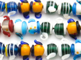 Teapot Lampwork Glass Beads 20mm (LW1271)