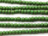 Green Glass Beads 4-6mm (JV172)