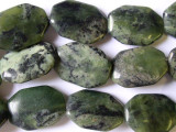 Jade Tabular Gemstone Beads 25mm (GS1476)