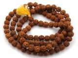 Rudraksha Prayer Beads Mala 10-12mm (NP537)