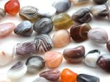 Botswana Agate Nugget Gemstone Beads 10-20mm (GS1804)