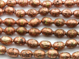 Copper & Brass Metal Prayer Beads - Ethiopia (ME178)