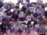 Amethyst Petal Nugget Gemstone Beads 16mm (GS2334)