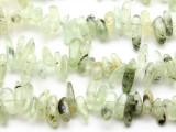 Prehnite Stick Gemstone Beads 23mm (GS2315)