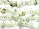 Prehnite Petal Nugget Gemstone Beads 15mm (GS2329)