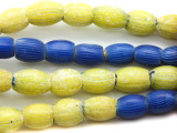 Onionskin - Old African Trade Beads (RF337)