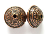 Large Copper Ornate Bead 28mm (MB19)