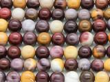 Moukaite Round Gemstone Beads 8mm (GS253)